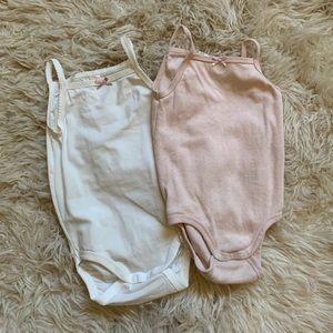 H&M Cami Bodysuits NWOT
